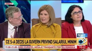 Discuţii tensionate privind salariul minim