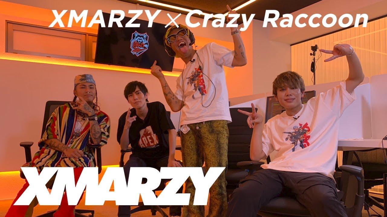 【XLARGE TV:XMARZY】Crazy Raccoonのゲーミングオフィスに潜入!Apex Legendsで遊んでみた!
