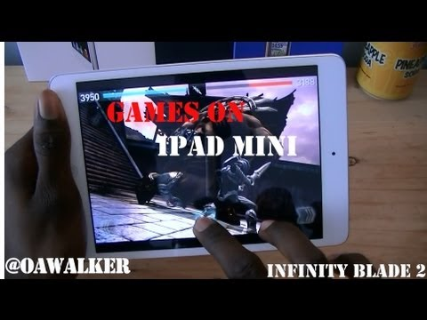 Games on Ipad Mini