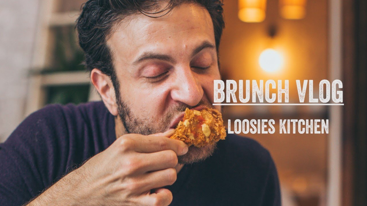 Brunch Boys Brunch Vlog At Loosies Kitchen With Onehungryjew From Girls Gotta Eat