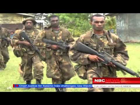 NBC News - Restraining order against PNGDF