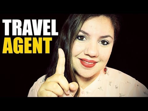 ASMR Travel Agent Role Play ( With Typing Sounds)