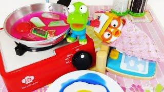뽀로로 크롱 액체괴물 요리놀이 주방놀이 장난감 Pororo Slime Clay Cooking play Toys