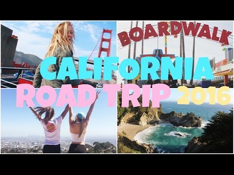 California Coast Road Trip 2016