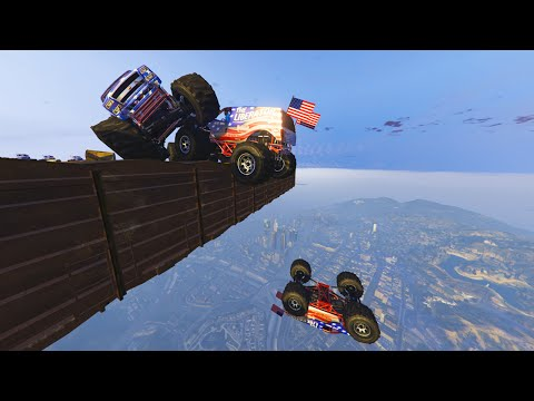 MILE HIGH SKY DERBY! (GTA 5 Funny Moments)