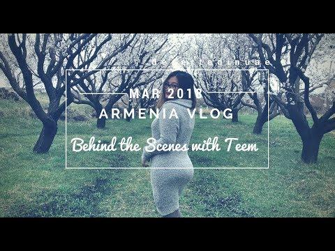 DAY 1 ARMENIA TRAVEL VLOG BTS PHOTOSHOOT WITH TEEM   Travel Vlog