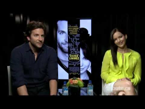 Bradley Cooper & Jennifer Lawrence - Silver Linings Playbook Interview TIFF 2012