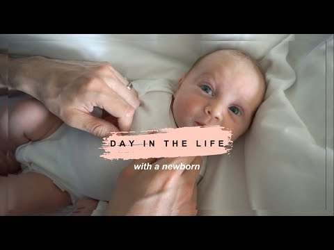 DAY IN THE LIFE WITH A NEWBORN | 5 week old