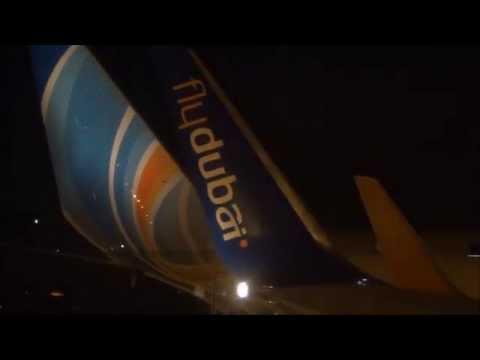 FlyDubai 737-800 Evening flight Dubai to Riyadh