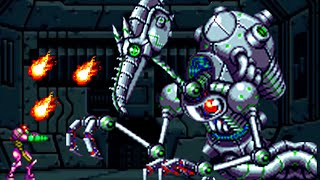 Metroid Zero Mission - All Bosses (No Damage)