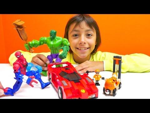 Lego. Oyuncak araba yapıyoruz