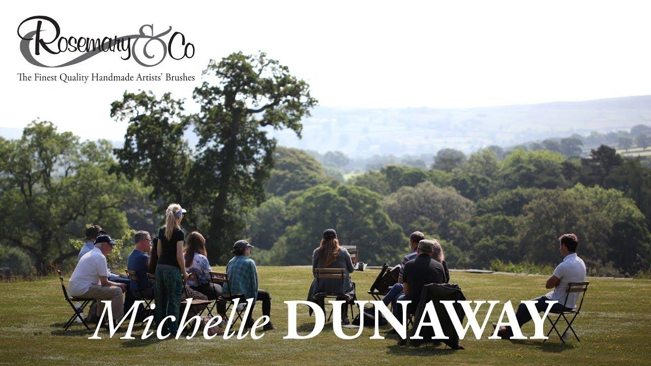 Download Michelle Dunaway Portrait demonstration, Yorkshire 2018