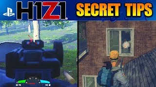 H1Z1 PS4 - BEST TIPS TO MAKE YOU BETTER! BEST H1Z1 PLAYSTATION 4 TIPS (H1Z1 Playstation 4 Gameplay)