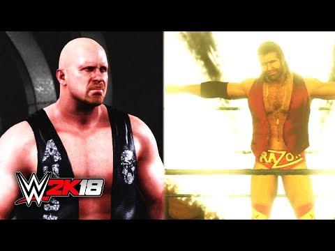 WWE 2K18 STONE COLD vs RAZOR RAMON Gameplay (Pre Release Tournament Part 3)