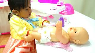 Bermain Bayi Bayian Baby Kids Lucu 💖 Baby Doll daily morning routine with mama!