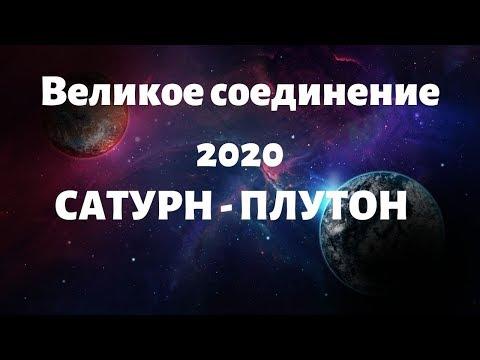 Великое соединение 2020 Сатурн - Плутон