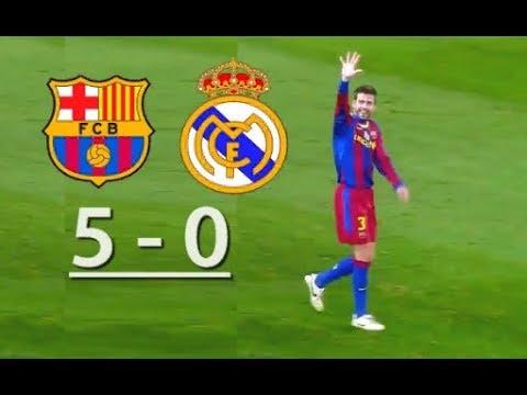 Барселона реал мадрид 5 0 смотреть полностью