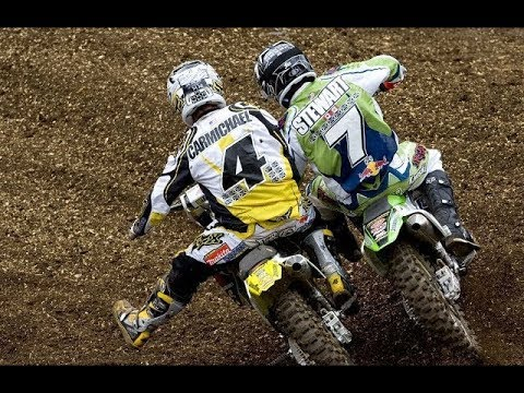 James Stewart and Ricky Carmichael Epic Battle - Washougal M