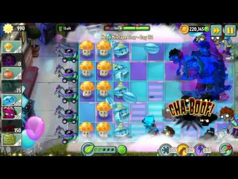 Plants vs Zombies 2 - Neon Mixtape Tour Day 30