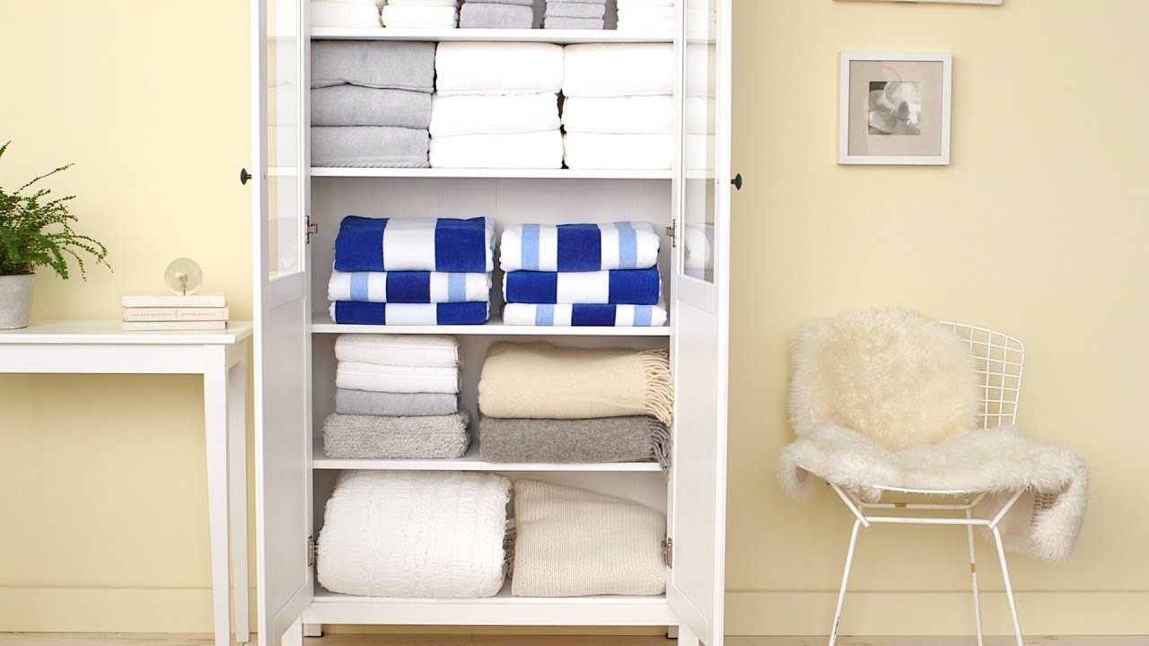 How To Organize A Linen Closet Martha Stewart