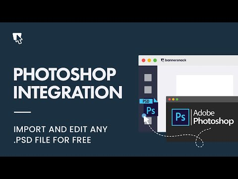 Photoshop Integration - Import .PSD Files Into Bannersnack