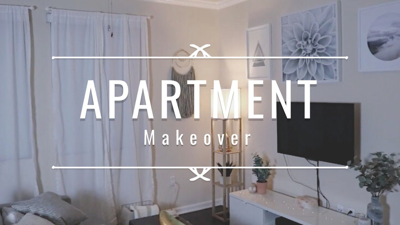 DECORATING MY APARTMENT ON A BUDGET 2019 | Hillary Alex - YouTube