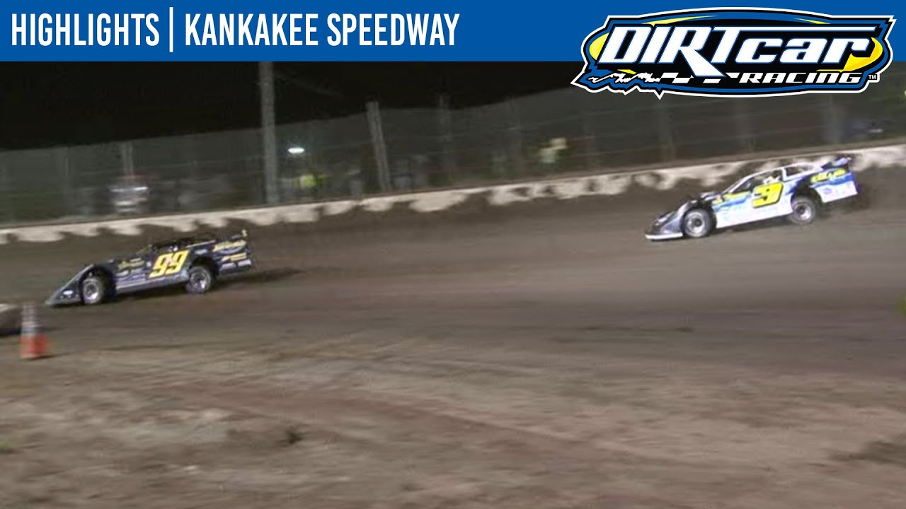 DIRTcar Summer Nationals Late Models Kankakee Speedway August 18, 2020 | HIGHLIGHTS