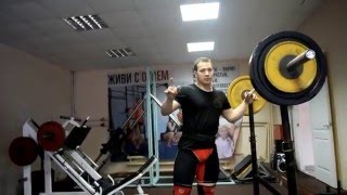 Тренировка тяжелоатлетов ИжГТУ