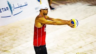 Beach Volleyball Techniques • Serving #2 • Swatch MAJOR Series #FTLMajor 2018