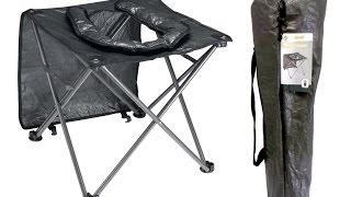 OZTrail Portable Folding Camping Toilet Chair