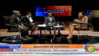 Monday Special:  Bullying in Schools