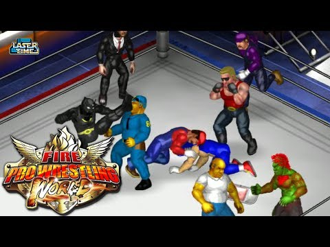 Fire Pro Wrestling World - The Best Match in Town!