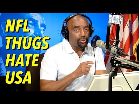 "Black NFL Thugs Destroy Football. ""Veteran"" Supports Disrespecting USA"