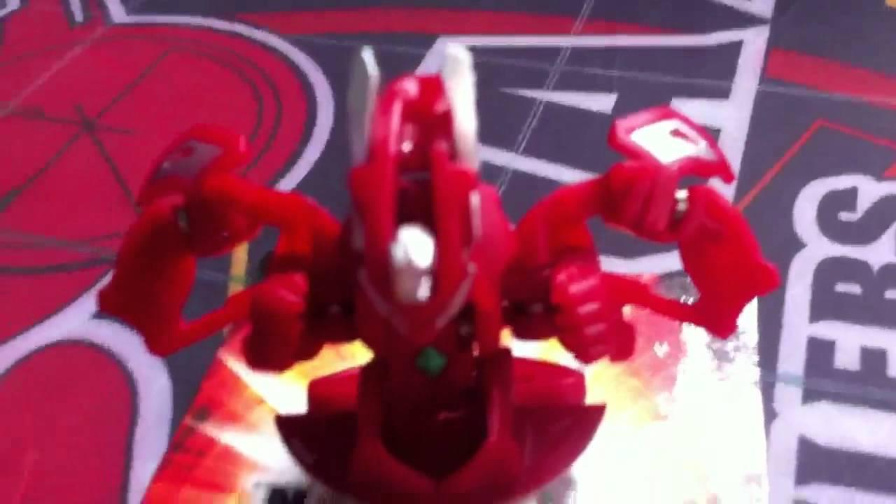 Bakugan Pyrus Red MK2 Helios 540G Japanese Exclusive Super Rare