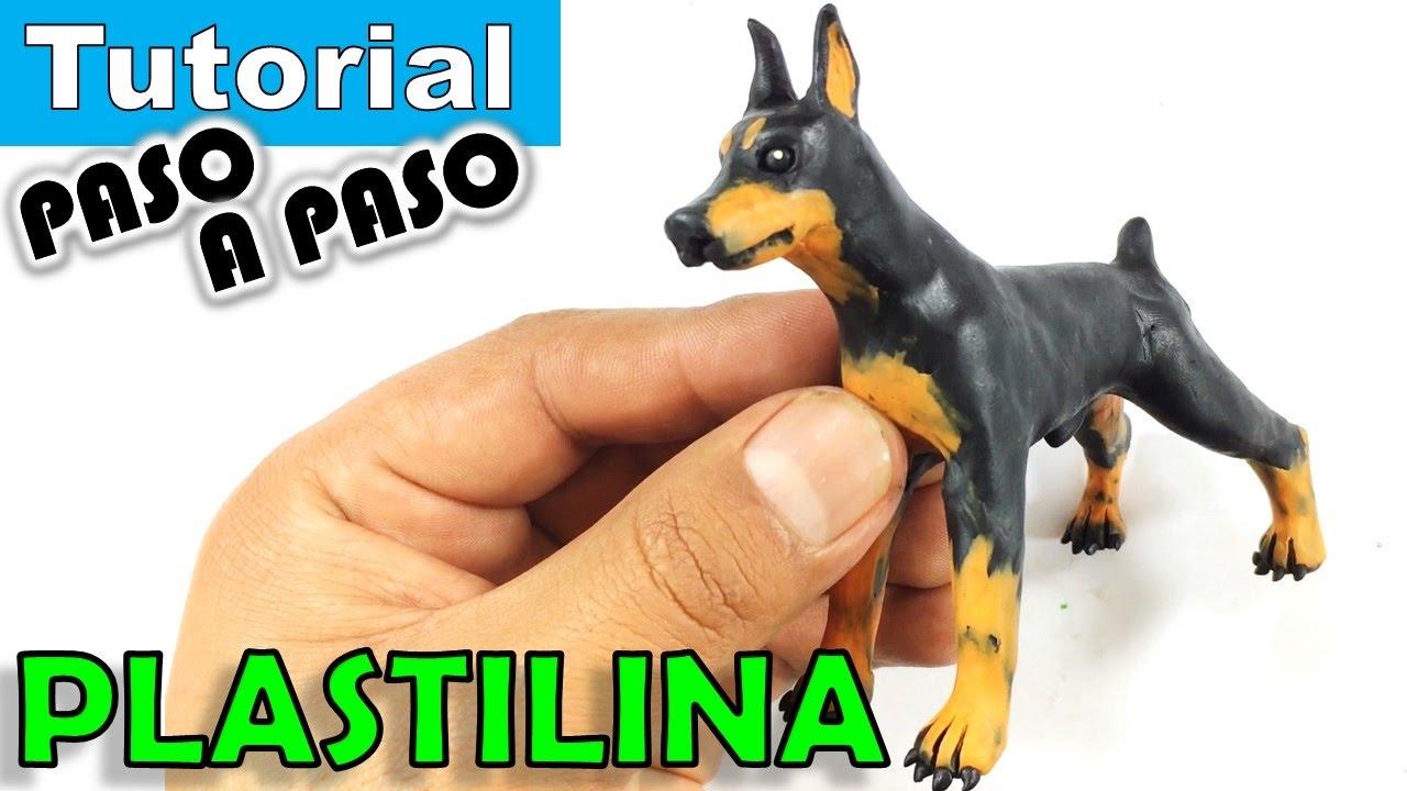Como hacer un perro doberman de plastilina paso a paso - Como hacer un estor enrollable paso a paso ...