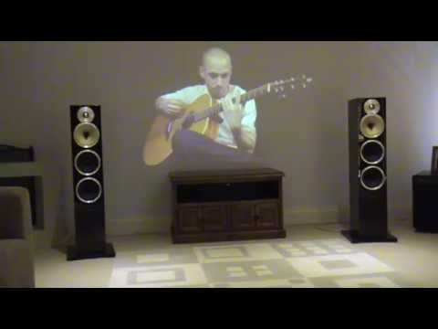 Musical Fidelity M6 500i , Oppo 105, BW cm9 -Eon's Illusion performed by Eric Mongrain
