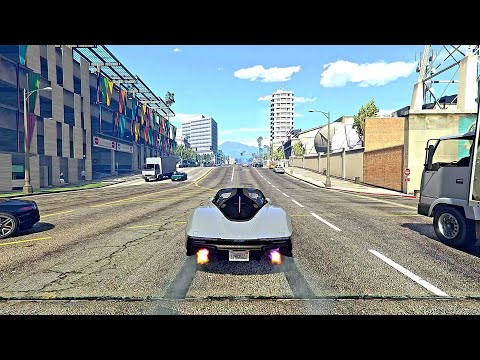 GTA 5 New McLaren Speedtail 2021 [Mod Car] Supercars Gameplay PC #short