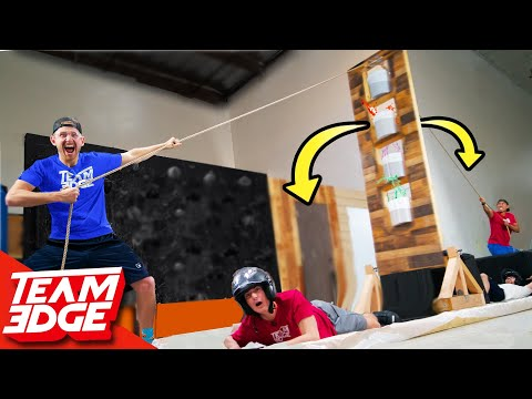 Giant Wall of Mess Tug o' War!! | Don't Get Your Teammate Dumped on!