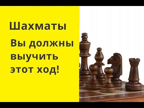 Шахматы. Вы должны выучить этот ход!  Шахматы онлайн. Бесплатные шахматы. Шахматы играть