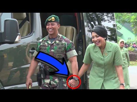 The good news is the Commander of the Army Andika Perkasa and Mrs. Hetty Andika Perkasa