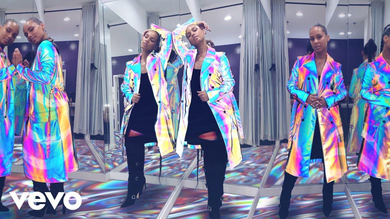 Alicia Keys - Wasted Energy (Visualizer) ft. Diamond Platinumz