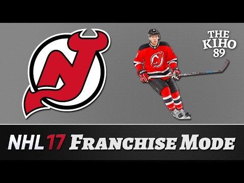 "NHL 17 Franchise Mode: New Jersey Jakso 40 ""Pudotuspeleihin?"""
