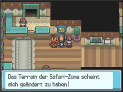 Let's Play Pokemon Soul Silver [German] 100% Part 36 - Die Safari Zone: Unser Letztes Teammidglied!