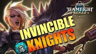 Knights are INVINCIBLE?! - Teamfight Tactics TFT Full Knights