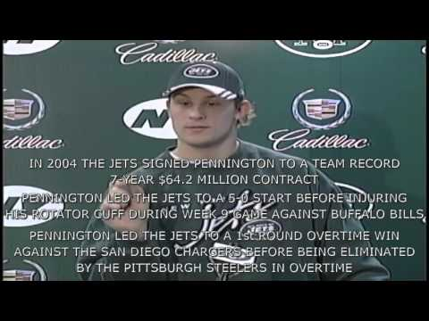 DID YOU KNOW? CHAD PENNINGTON (NFL QUARTERBACK)