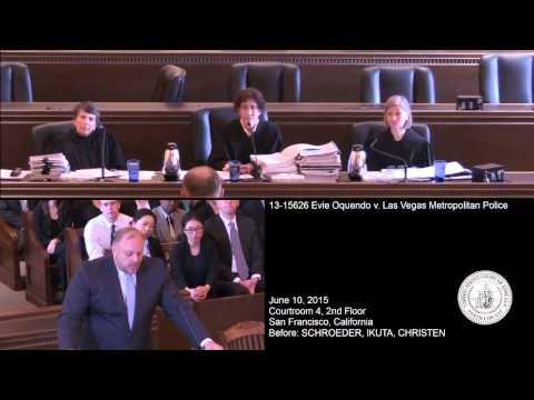 13-15626 Evie Oquendo v. Las Vegas Metropolitan Police