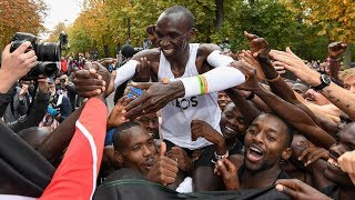 History Made: Eliud Kipchoge Runs 1:59 Marathon