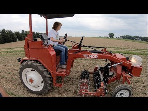 New Organic and Hobby Farm Tractor!  Tilmor - Modern Allis-Chalmers G