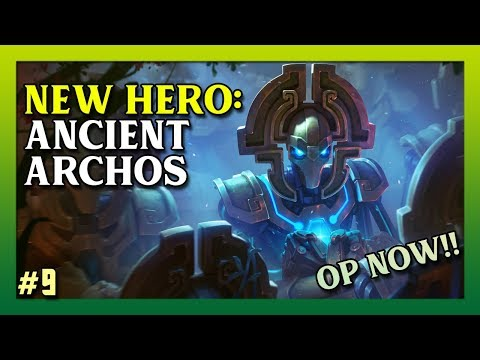 Juggernaut Wars / New Hero: Ancient Archos Gameplay And Skills
