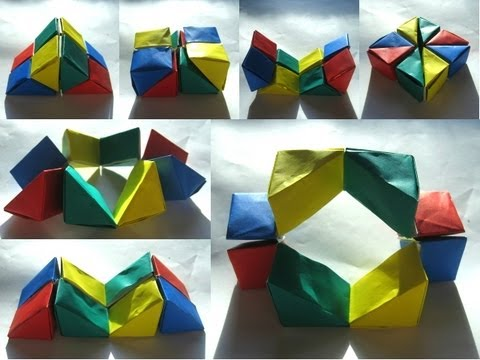 Origami Wedge Flexicube By David Brill Part 1 Of 3